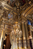 La ópera o el palacio Garnier. París, Francia. Imagen de archivo
