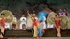 La ópera tradicional china se realiza Fotos de archivo