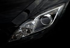 La óptica delantera del automóvil Fotografía de archivo libre de regalías