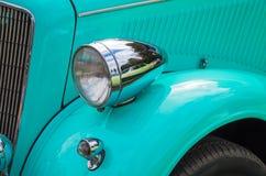 La óptica delantera del coche Fotografía de archivo libre de regalías