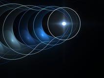 La óptica en el movimiento Foto de archivo