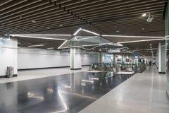La última estación total de Muzium Negara del tránsito rápido del MRT Fotografía de archivo
