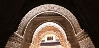 la Испания alhambra granada Стоковые Фото