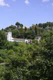 la холмов alhambra granada Стоковое Изображение