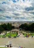 la штольни бинокля монетки de fayette Франции высокий работал над paris вверх по взгляду Стоковое фото RF