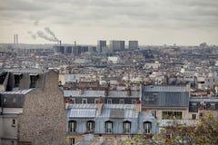 la штольни бинокля монетки de fayette Франции высокий работал над paris вверх по взгляду Стоковое Изображение
