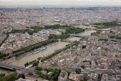 la штольни бинокля монетки de fayette Франции высокий работал над paris вверх по взгляду Стоковые Изображения RF