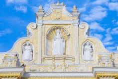 La默塞德教会安提瓜岛 免版税库存图片