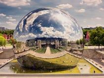 la巴黎villette 免版税图库摄影