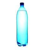 la 1 eau de litre mis en bouteille par 5 Images stock
