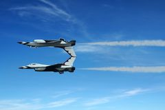 το αεριωθούμενο αεροπ&la Στοκ φωτογραφία με δικαίωμα ελεύθερης χρήσης
