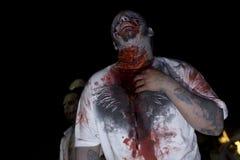 la 3 går zombien royaltyfri foto