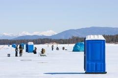 La 5ème pêche de Baikal Images stock