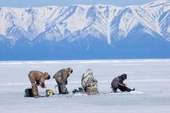 La 5ème pêche de Baikal Photographie stock libre de droits