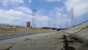 LA河 库存图片