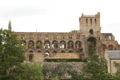 La abadía antigua de Jedburgh Foto de archivo