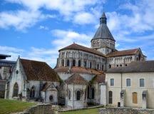 La abadía antigua en la Francia Fotografía de archivo libre de regalías