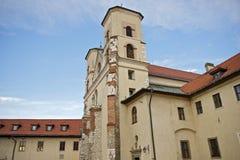 La abadía benedictina Imágenes de archivo libres de regalías