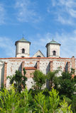 La abadía benedictina en Tyniec en Polonia Fotografía de archivo libre de regalías