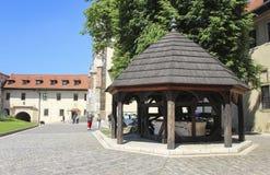La abadía benedictina en Tyniec, Kraków, Polonia Foto de archivo