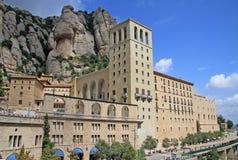La abadía benedictina Santa Maria de Montserrat, España Fotografía de archivo libre de regalías