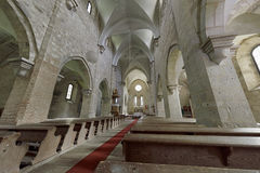 La abadía cisterciense en Belapatfalva Imágenes de archivo libres de regalías