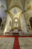 La abadía cisterciense en Belapatfalva Fotografía de archivo libre de regalías