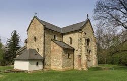 La abadía cisterciense en Belapatfalva Imagenes de archivo