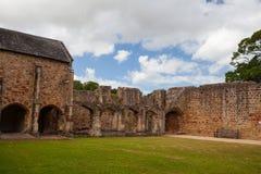 La abadía de Cleeve es un monasterio medieval situado cerca del pueblo de Fotos de archivo libres de regalías
