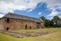 La abadía de Cleeve es un monasterio medieval situado cerca del pueblo de Foto de archivo