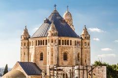 La abadía de Dormition en Jerusalén Fotografía de archivo libre de regalías