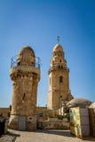 La abadía de Dormition en Jerusalén, Israel Fotografía de archivo libre de regalías