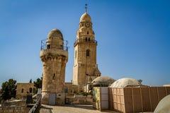 La abadía de Dormition en Jerusalén, Israel Imágenes de archivo libres de regalías
