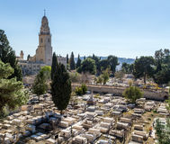 La abadía de Dormition en Jerusalén, Israel Imagen de archivo libre de regalías