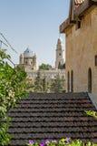 La abadía de Dormition en Jerusalén, Israel Imagen de archivo