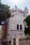 La abadía de Dormition en la ciudad vieja de Jerusalén, Israel Imagenes de archivo