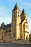 La abadía de Echternach, Luxemburgo Fotos de archivo libres de regalías