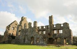 La abadía de Egglestone es una abadía abandonada de Premonstratensian en el banco meridional de las camisetas del río Fotografía de archivo libre de regalías