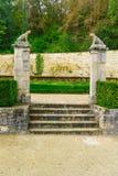 La abadía de Fontenay Fotografía de archivo libre de regalías