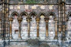 La abadía de Holyrood, Edimburgo, Escocia Imagen de archivo