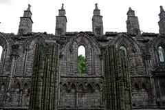 La abadía de Holyrood, Edimburgo, Escocia Imágenes de archivo libres de regalías