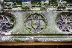 La abadía de Holyrood, Edimburgo, Escocia Fotos de archivo libres de regalías