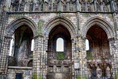 La abadía de Holyrood, Edimburgo, Escocia Foto de archivo