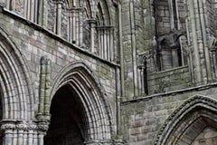 La abadía de Holyrood, Edimburgo, Escocia Fotos de archivo