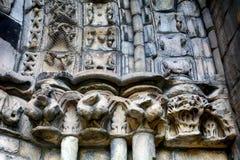 La abadía de Holyrood, Edimburgo, Escocia Fotografía de archivo libre de regalías