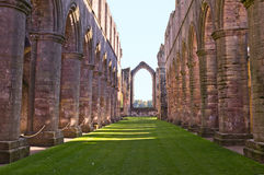 La abadía de la fuente de Inglaterra Fotos de archivo