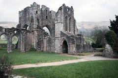 La abadía de Llanthony en brecon baliza el parque nacional, País de Gales Imagen de archivo