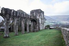 La abadía de Llanthony en brecon baliza el parque nacional, País de Gales Imágenes de archivo libres de regalías