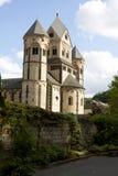 La abadía de Maria Laach en Alemania Fotos de archivo