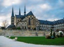 La abadía de Michaelsberg en Bamberg Foto de archivo